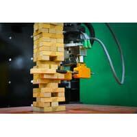 Робот из MIT обучается игре в «Дженгу», полагаясь на зрение и осязание
