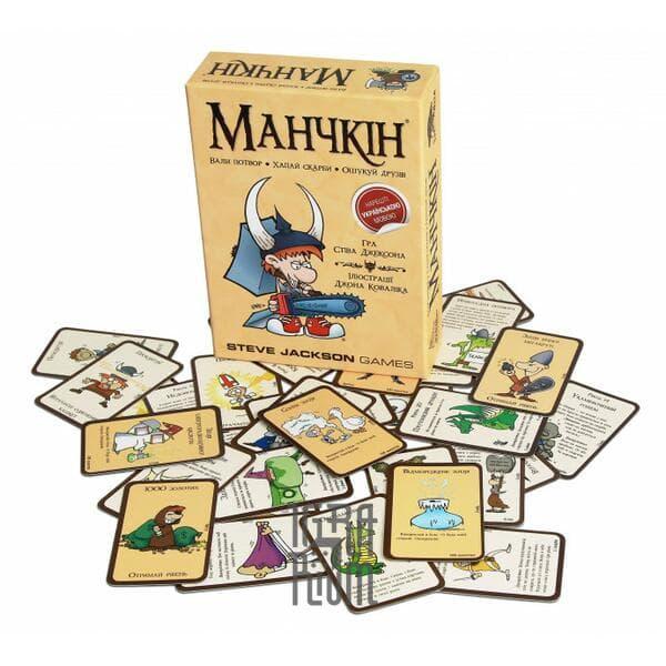 Настольная игра Манчкін (Манчкин, Munchkin) українською