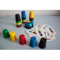 Настольная игра Швидерця (Скоростные колпачки, Speed Cups)