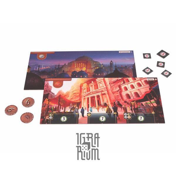 Настольная игра 7 Wonders: Cities, 2-е издание (англ)