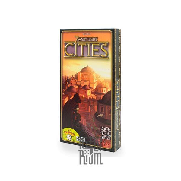 Настольная игра 7 Wonders: Cities, дополнение (на английском)
