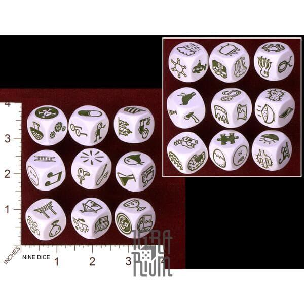 Настольная игра Кубики Историй Рори: Путешествия (Rorys Story Cubes: Voyages) Zygomatic
