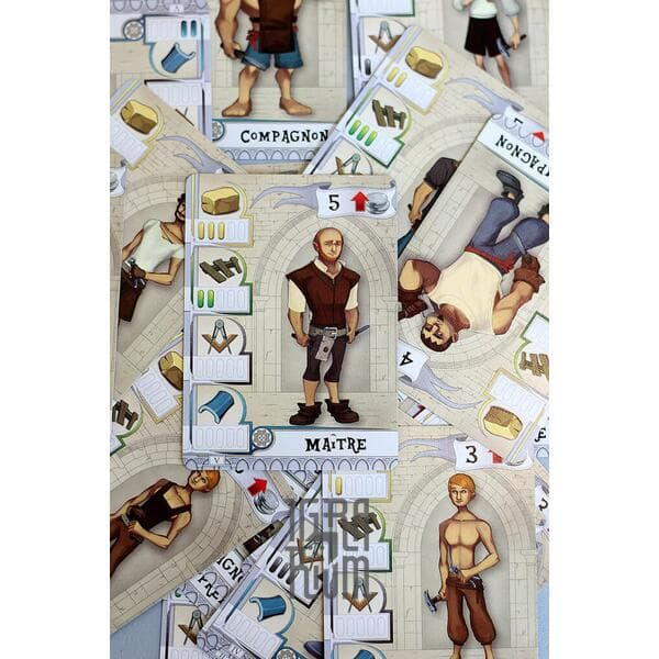 Настольная игра The Builders: Middle Ages
