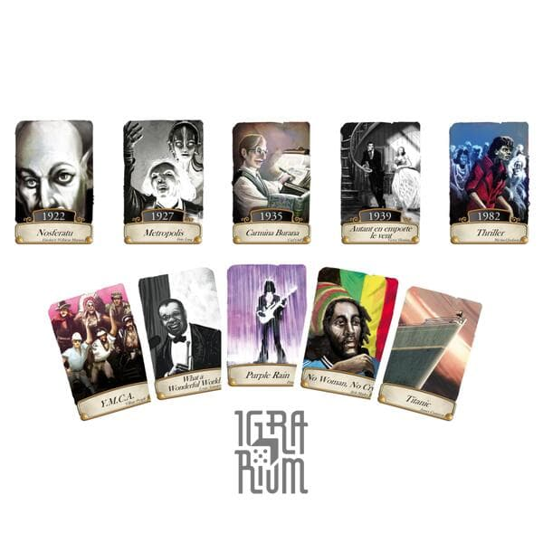 Настольная игра Timeline: Music & Cinema