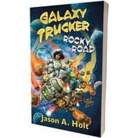 Настольная игра Galaxy Trucker: Rocky Road - a novel