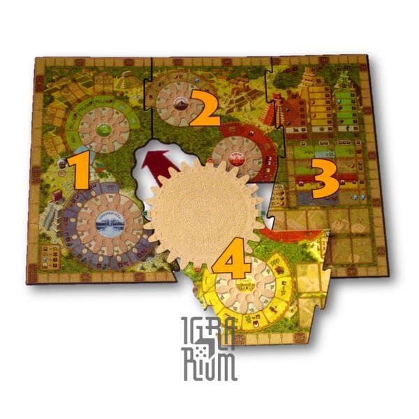 Настольная игра: Tzolk'in: The Mayan Calendar