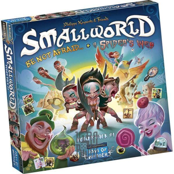 Настольная игра: Small World - Power Pack 1: Be Not Afraid + Spider's Web