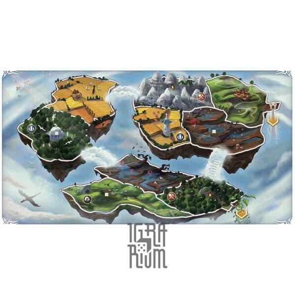 Настольная игра Small World: Sky Islands