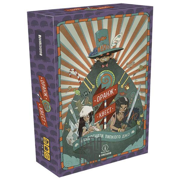 Настольная игра Оранж Квест: наздогнати Липкого Джо