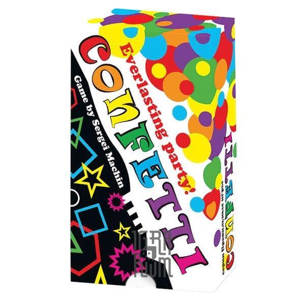 Настольная игра Карточная игра Конфетти (Confetti. Everlasting Party!)