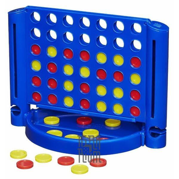 Настольная игра Собери 4-ку (четвёрку)! Дорожный вариант