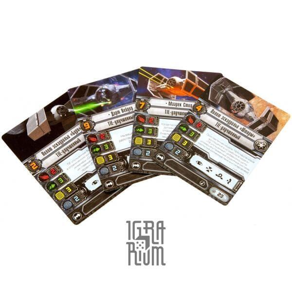 Настольная игра Расширение TIE-улучшенный (Star Wars X-Wing)