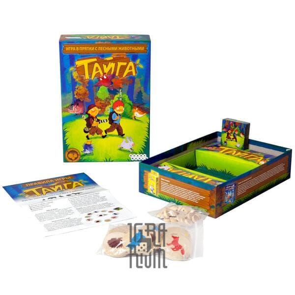 Настольная игра Тайга