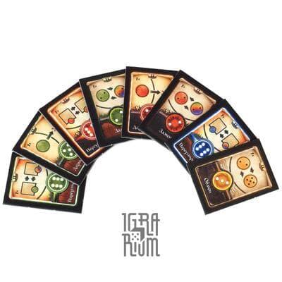 Настольная игра За пятью печатями