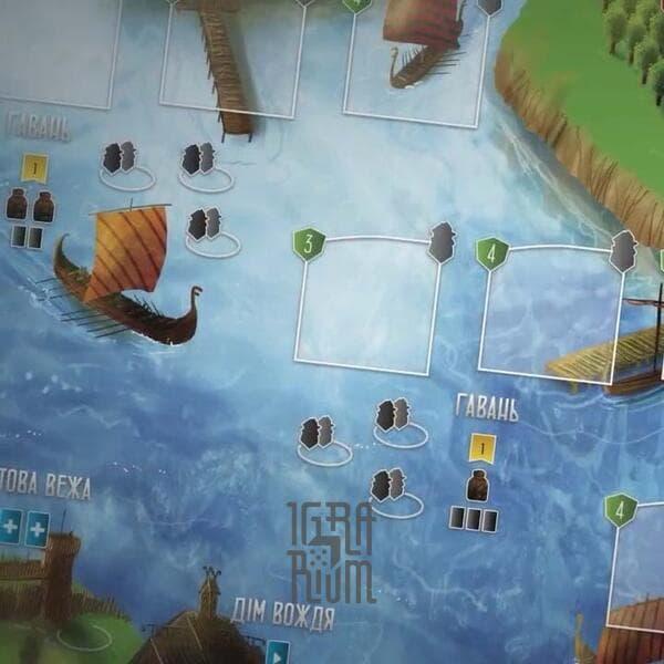 Настольная игра Вікінги Північного моря (Raiders of the North Sea, Викинги Северного моря)