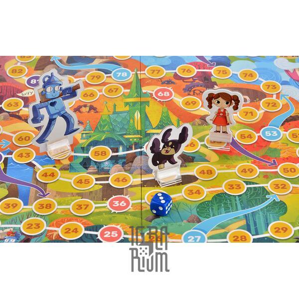 Настольная игра Приключения Элли и Тотошки