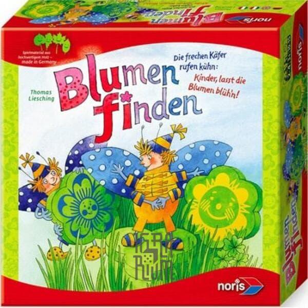Настольная игра Собери букет (Flowers matching)