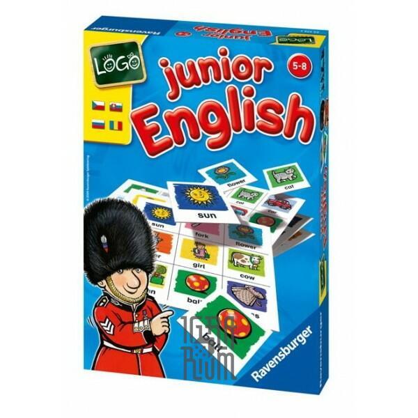 Настольная игра Английский язык Юниор