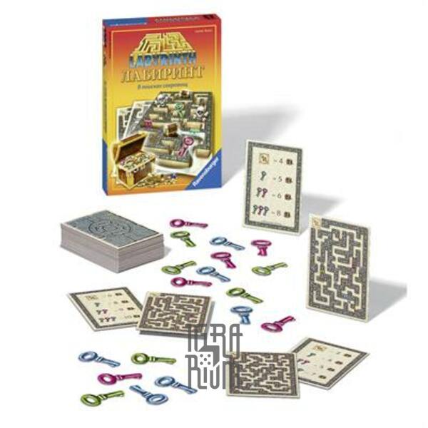 Настольная игра Лабиринт - В поисках сокровищ