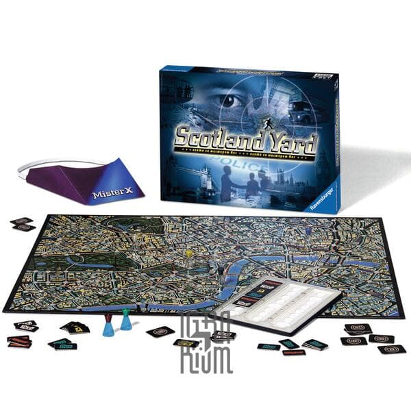 Настольная игра Скотланд Ярд (Scotland Yard)