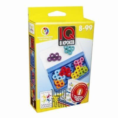 Настольная игра IQ 8 кроків (IQ 8 шагов, IQ 8 step)