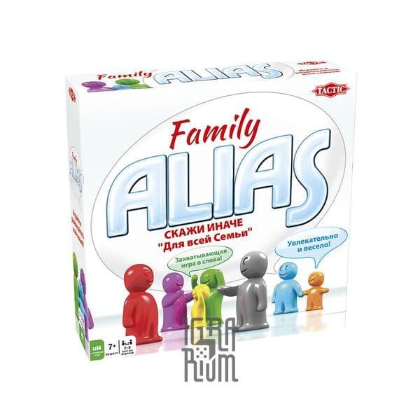 Настольная игра Алиас Семейный (Alias Family) (рус)