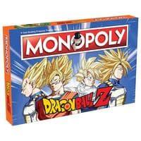 Monopoly Dragon Ball Z (Монополия: Драконий жемчуг Зет)