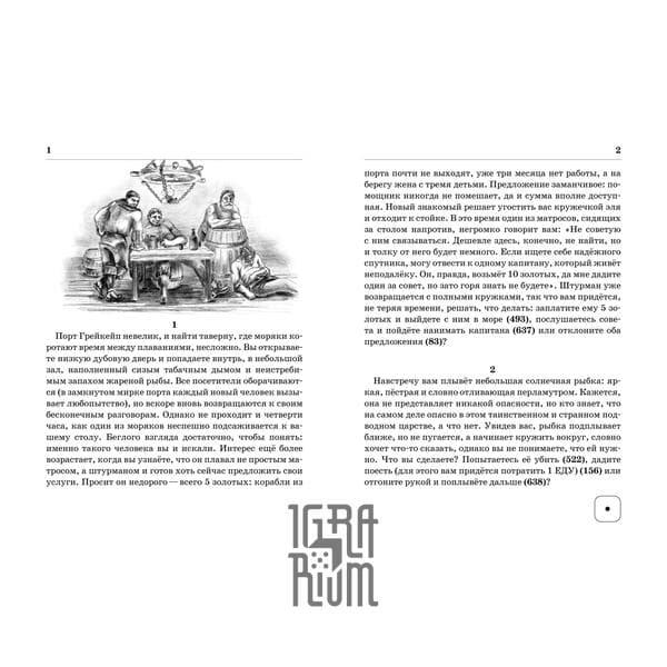 Настольная игра Книга-игра Тайна капитана Шелтона