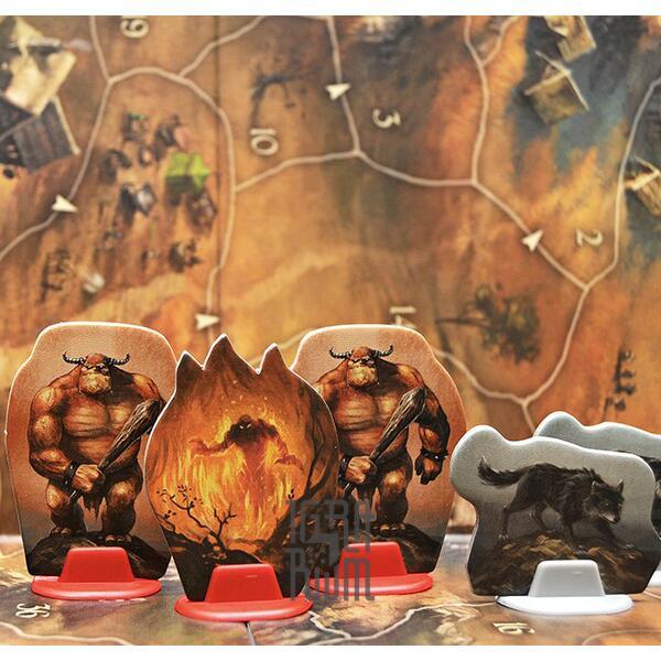 Настольная игра Андор: Легенда о звездном щите